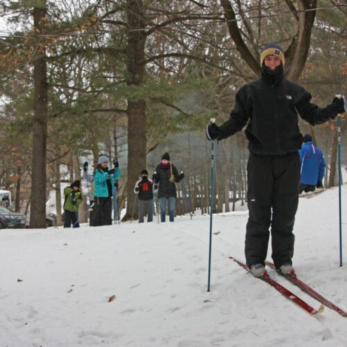 Skiing Activity