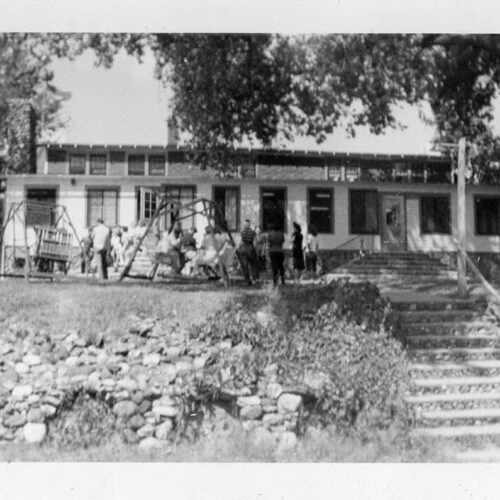 Old Picture Of The Ranch