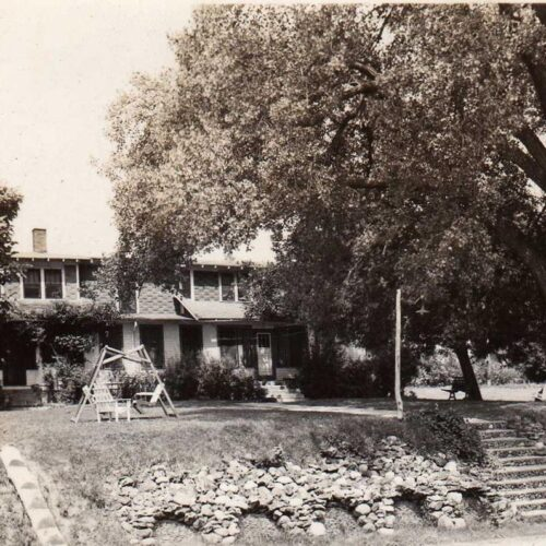 Vintage Picture Of The Ranch
