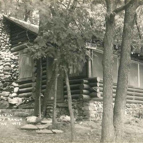 Old Picture Of A Cabin