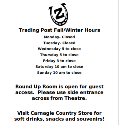 Trading Post Hours